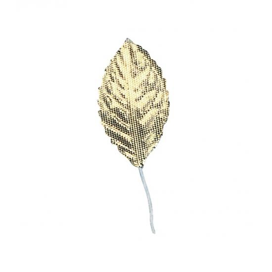 12 brokaat gouden blaadjes