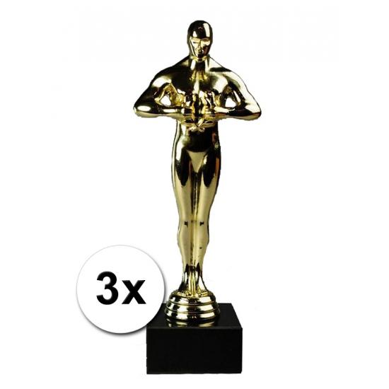 3 award beeltjes deluxe 22 cm