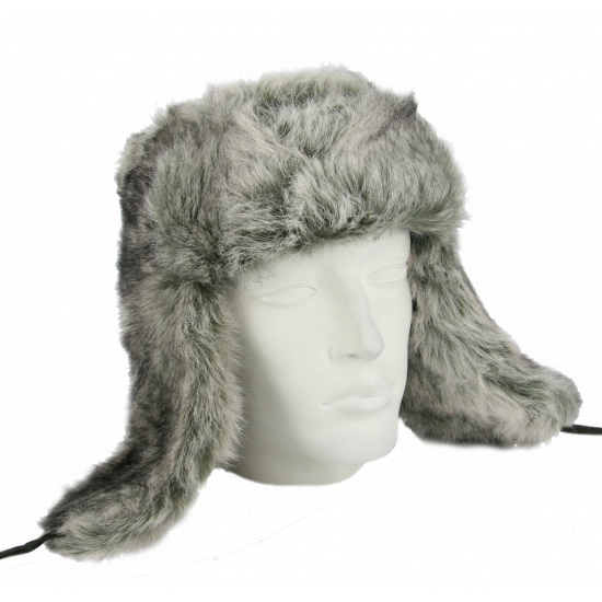 Bontmutsen Russisch grijs