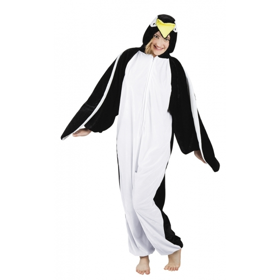 Canaval onesie pinguin dames