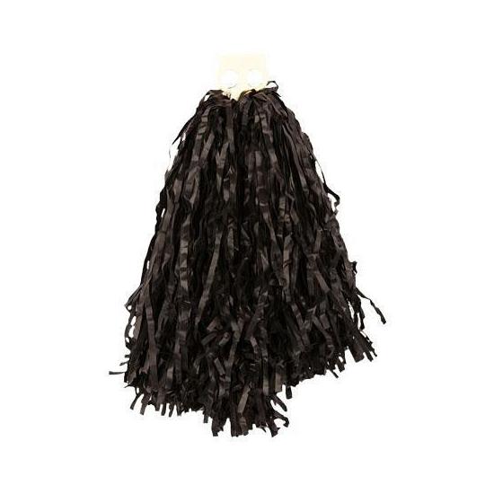 Cheerballs zwart 28 cm