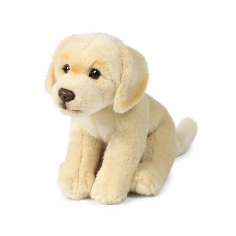 Creme labrador honden knuffeltje
