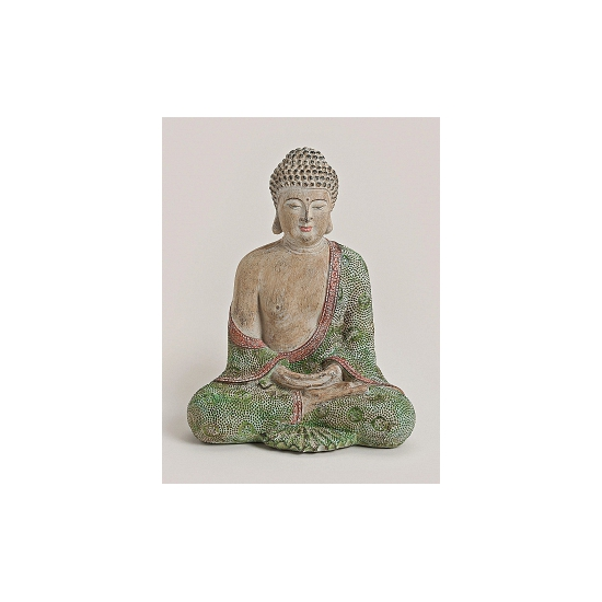 Decoratie beeld Boeddha 30 cm
