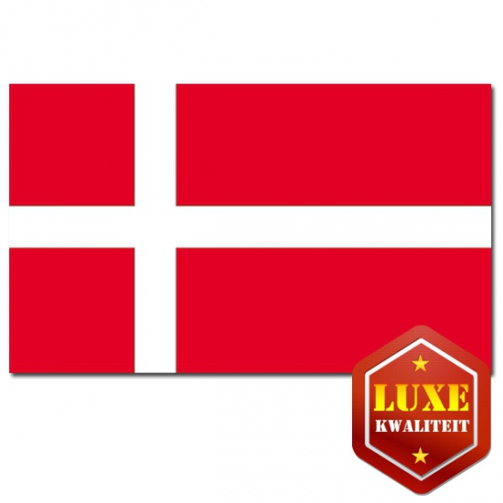 Deense landen vlaggen