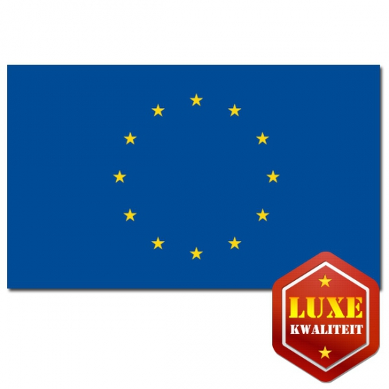 Europese uni vlag 100 x 150 cm