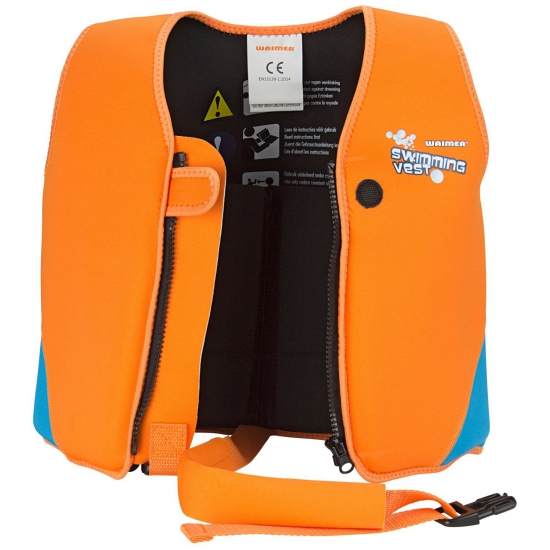 Fluor oranje zwemvest 3-6 jaar