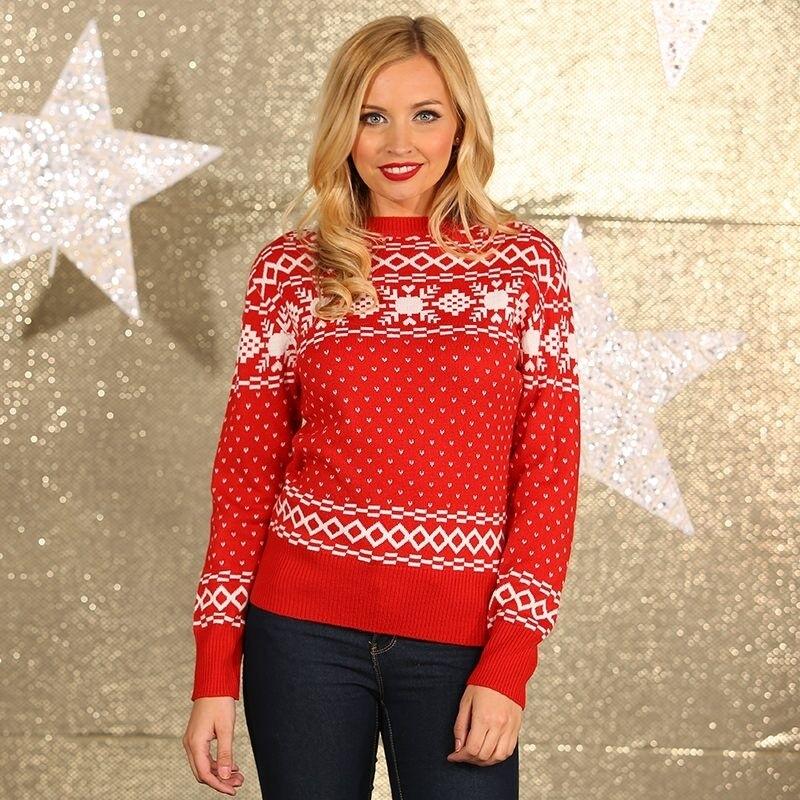 Foute kerstprint truien Nordic
