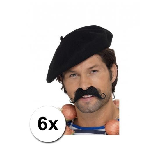 Frankrijk baretten 6 st
