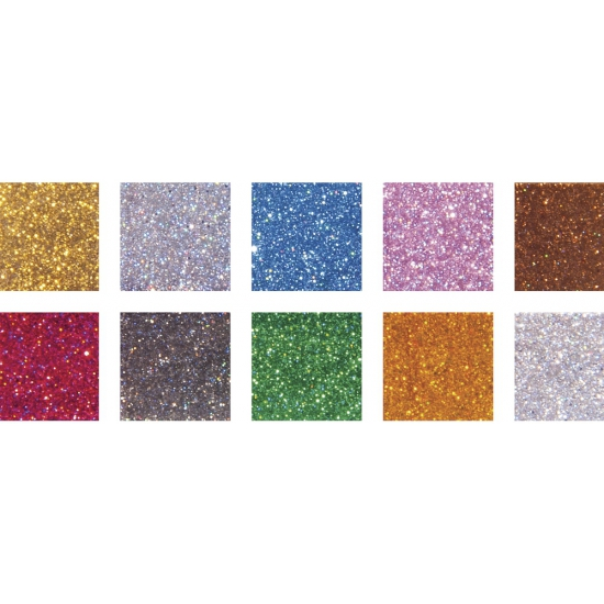 Glitter acryl mozaiek stenen