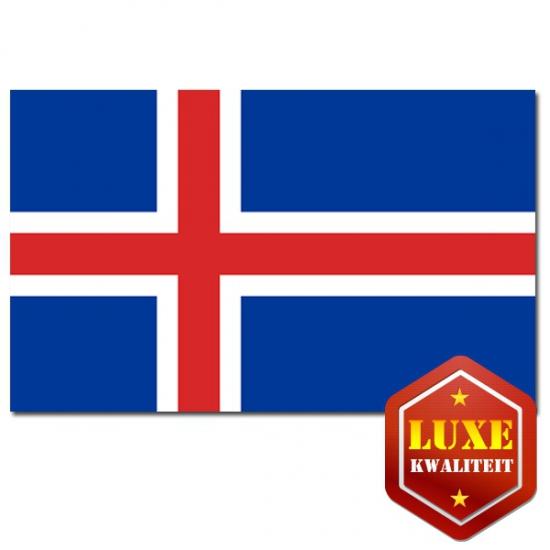 Goede kwaliteit IJslandse vlaggen