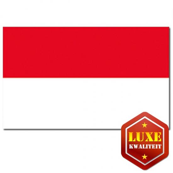 Goede kwaliteit Indonesische vlag