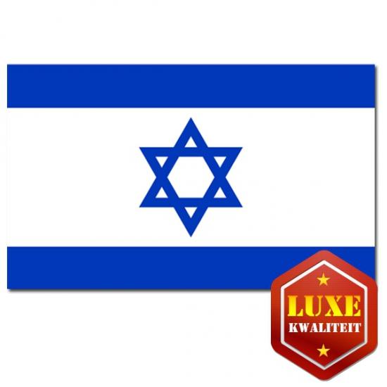 Goede kwaliteit vlag Israel