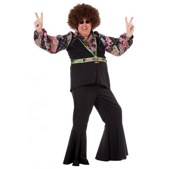Grote maat hippie blouse voor heren (bron: Shirtszone)