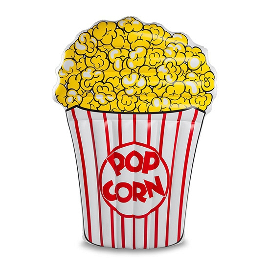 Grote opblaas popcorn luchtbed 152 cm