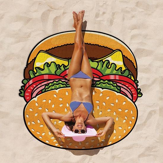 Hamburger picknickkleed handdoek 150 cm