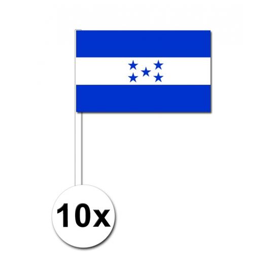 Handvlag Honduras set van 10