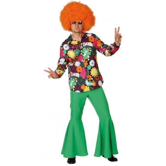 Hippie Peace and Love overhemd