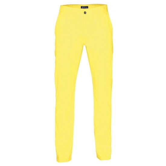 Katoenen broek geel voor hem