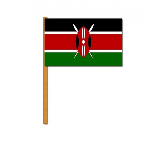 Kenia zwaaivlaggen
