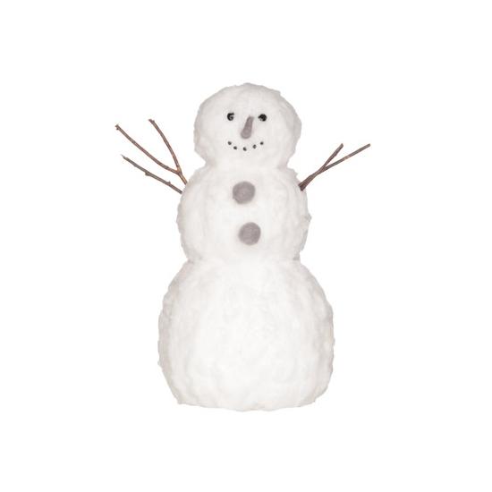 Kerstdecoratie sneeuwman 42 cm