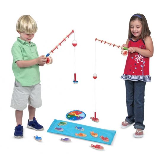 Kinder magneet vissen spelletje
