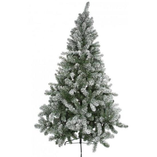 Kunst kerstbomen besneeuwd 150 cm