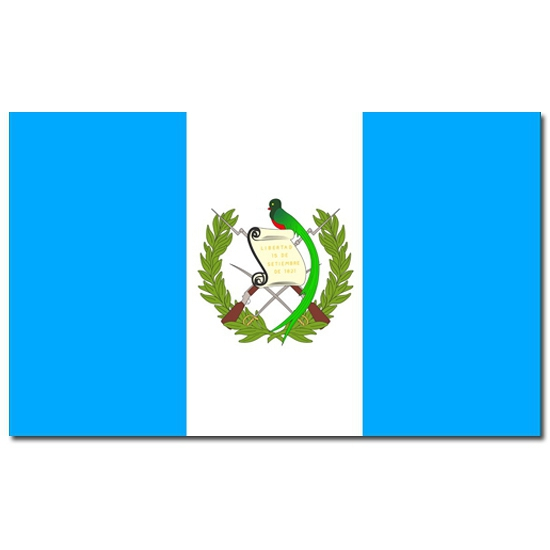 Landenvlag Guatemala