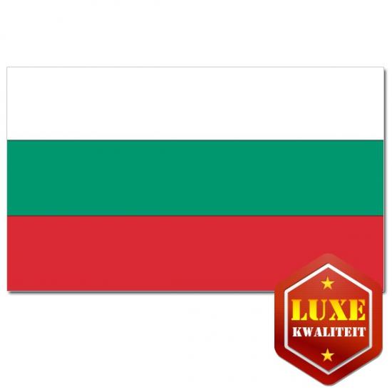 Luxe kwaliteit Bulgaarse vlaggen