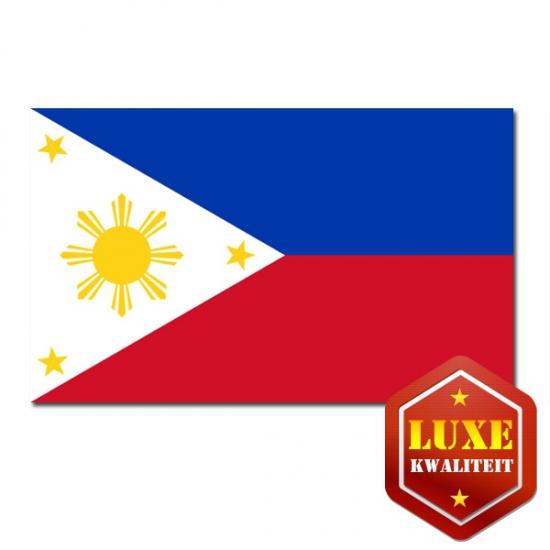 Luxe kwaliteit Filipijnse vlag