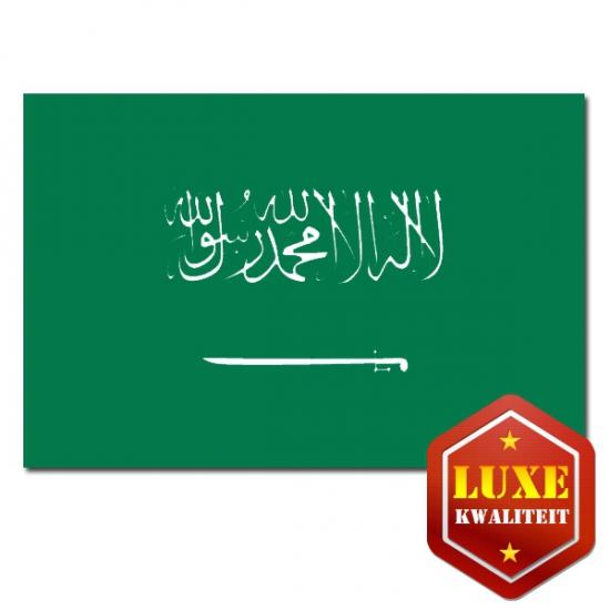 Luxe kwaliteit Saoedi Arabisch vlag