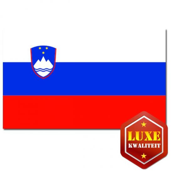 Luxe kwaliteit Sloveense vlaggen