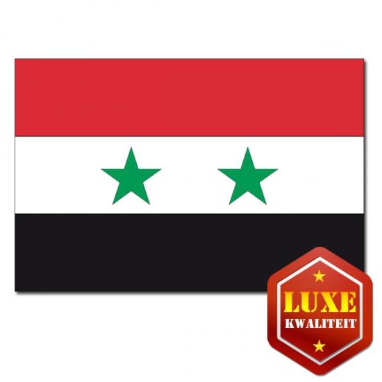 Luxe kwaliteit Syrische vlag