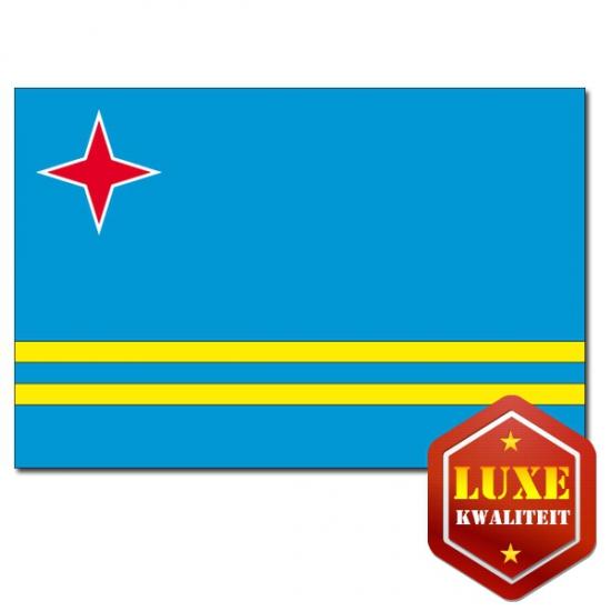 Luxe landen vlaggen van Aruba