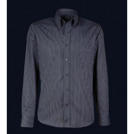 Luxe zwart overhemd voor heren