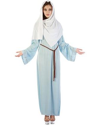 Maria kostuum met hoofddoek