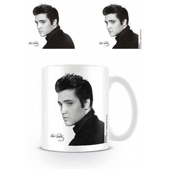 Mokken Elvis Presley zwart/wit