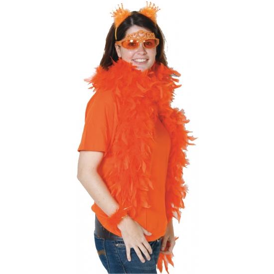 Oranje supporters boa