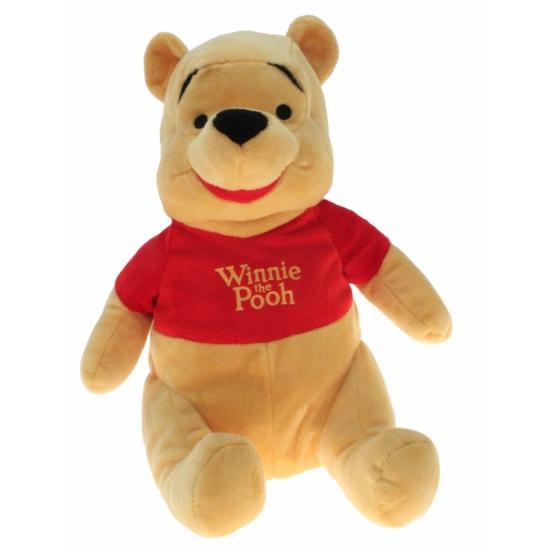 Pluche Winnie the Poeh knuffel 30 cm (bron: Shirtszone)