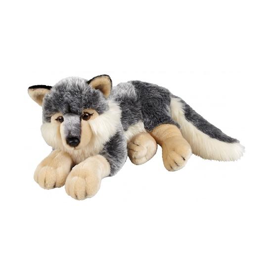 Pluche wolfen knuffel 50 cm