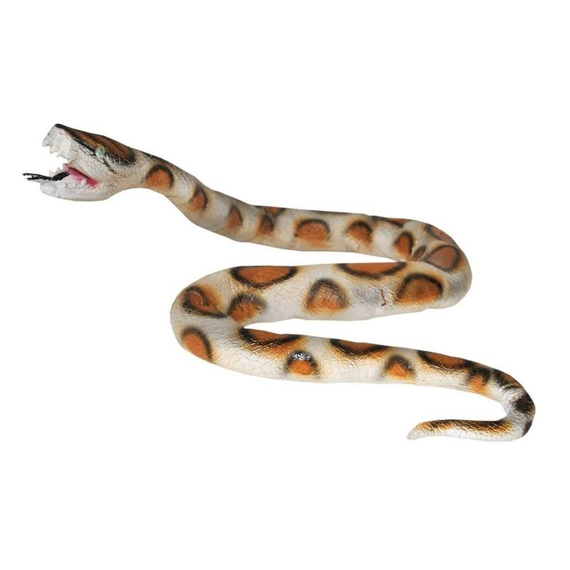Realistische nep slang 160 cm