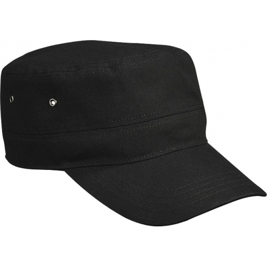 Rebel Militairen baseballcap zwart