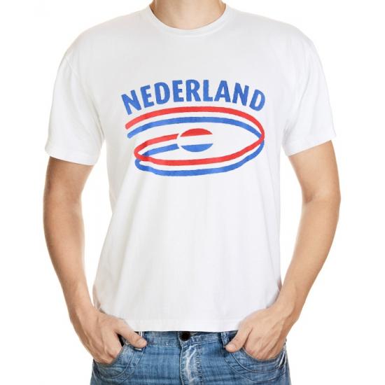 Shirts met vlaggen thema Nederland