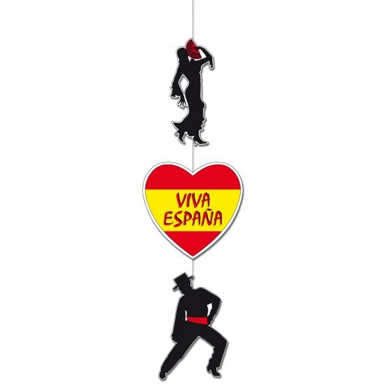 Spaanse flamencodansers versiering 100 cm