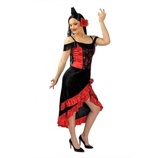 Spaanse verkleedjurk voor vrouwen incl. sluier