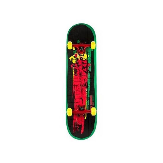 Speel skateboard rood/groen