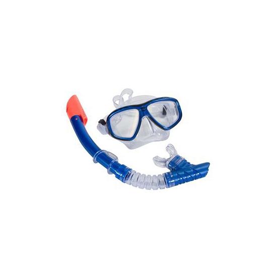 Speel snorkelset blauw volwassenen
