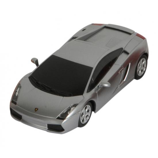 Speelgoed voertuigen Lamborghini zilver