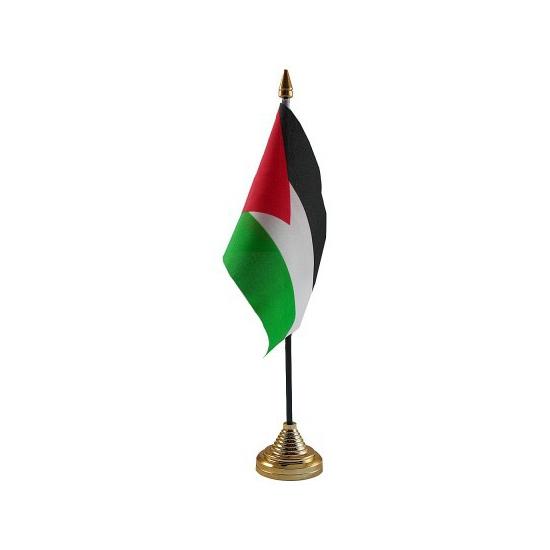 Standaard met vlaggetje Palestina