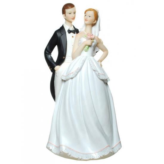 Super grote geld spaarpot bruidspaar