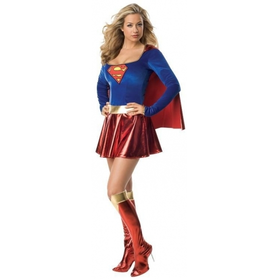 Supergirl pak voor dames